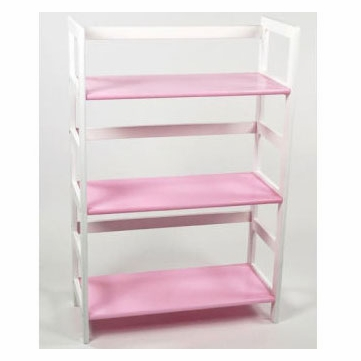Lipper International Kid's Book / Storage Case in Pink - 512PK