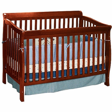 Delta Bridgeport 5-in-1 Crib Cherry