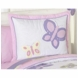 Sweet JoJo Designs Pink & Purple Butterfly Pillow Sham