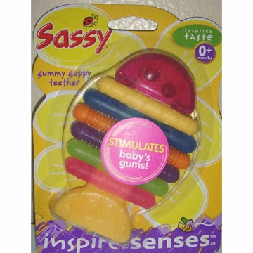 Sassy Gummy Guppy Teether