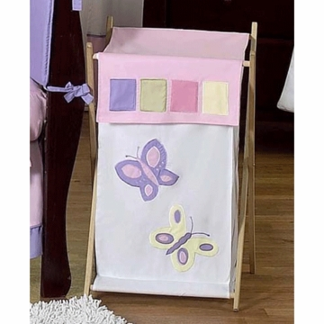 Sweet JoJo Designs Pink & Purple Butterfly Hamper