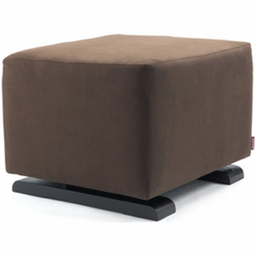 Monte Design Vola Ottoman in Brown Bonded Leather
