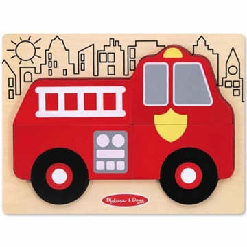 Melissa & Doug My First Chunky Puzzle Fire Truck