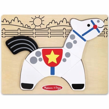 Melissa & Doug My First Chunky Puzzle Horse