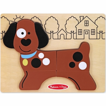 Melissa & Doug My First Chunky Puzzle Puppy Dog