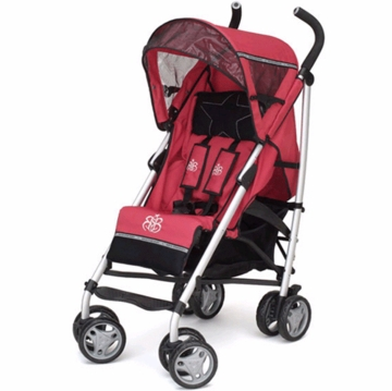 Rock Star Baby Candy Stroller in Red