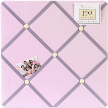 Sweet JoJo Designs Pink & Purple Butterfly Memo Board