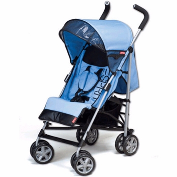Esprit Sun Speed Lightweight Stroller with Full Recline Blue