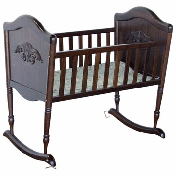 DaVinci Chloe Rocking Cradle in Espresso