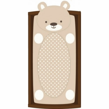 CoCaLo Plush Changing Pad Cover - Bear