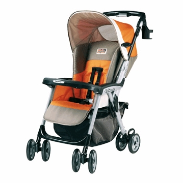 Peg Perego Aria OH Single Stroller 2007 Soleo Fabric