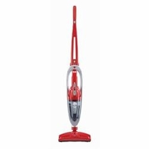 Dirt Devil BD20045 PowerFlex 12 Volt 2-in-1 Hand and Stick Vac, Red