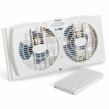 Holmes HAWF2021-U Twin Window Fan, White
