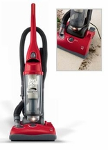 Dirt Devil UD40235 Ultra Swivel Glide Bagless Upright Vacuum, Red