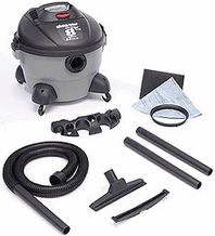 Shop-Vac 5850800 3.5 HP / 8 Gl. Quiet Plus Wet / Dry Vacuum Cleaner