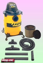 Shop-Vac 8500110 Wet/Dry Vacuum Cleaner - Deluxe Kit