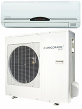 Amcor UCHW-H24AF2 Duo Ductless Split Air Conditioner w/ Heater