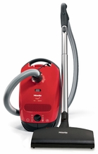 Miele S2180 Titan Chili Red Canister Vacuum