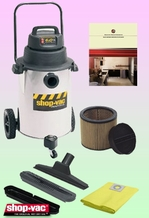 Shop-Vac 9252310 Wet/Dry Vacuum Cleaner - Deluxe Kit