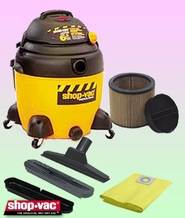 Shop-Vac 9609710 Wet/Dry Vacuum Cleaner - Deluxe Kit
