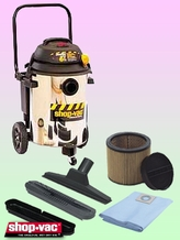 Shop-Vac 9609910 Wet/Dry Vacuum Cleaner - Deluxe Kit