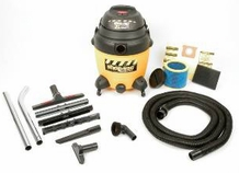 Shop-Vac 9622110 2.5 HP / 12 Gl. Industrial Multi-Purpose Wet / Dry Vacuum