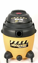 Shop-Vac 9623810 2.5 HP / 12 Gl. Industrial Multi-Purpose Wet / Dry Vacuum