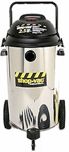 Shop-Vac 9624910 2.5 HP / 20 Gl. Industrial Multi-Purpose Wet / Dry Vacuum Cleaner