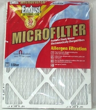 Endust MERV-11 Disposable Furnace Filter - 20 x 25'' x 1''