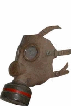 Belgian Gas Mask with Standard NATO Filter
