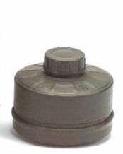 Replacement NATO Gas Mask Cartridge Filter