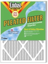 Endust MERV-8 Disposable Furnace Filter - 14 x 20'' x 1''