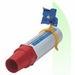 Peak Flow Meter Windmill Trainer 5 Pack - Red/Blue