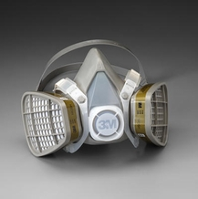 3M 5000 Series Multi Gas / Vapor Half-Face Respirator Gas Masks