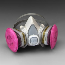 3M 51916 Multi Gas / Vapor / P100 Half-Face Respirator Gas Mask