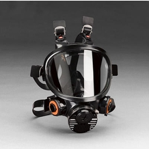 3M 7800S Full Facepiece Respirator Gas Mask