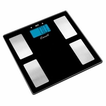 Escali USHM180G Body Fat, Water & Muscle Scale, 400lb