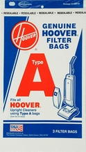 Hoover 4010001A Type A Bag (3 pack)