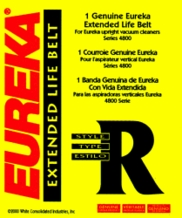 Eureka 61110 Replacement Vacuum Cleaner Belt