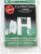 Hoover 40101001 H30 Filter and Bag Kit