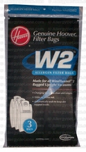 Hoover 401010W2 Vacuum Cleaner Allergen Filter Bags (3 pack)