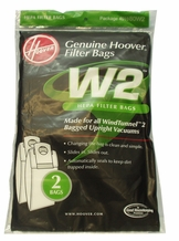 Hoover 401080W2 Vacuum Cleaner HEPA Filtration Bags (2 pack)