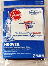 Hoover 40110009 WindTunnel Foam Filter (2 pack)