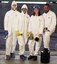DuPont Tyvek Coveralls with Hood, Boot, Elastic Wrist