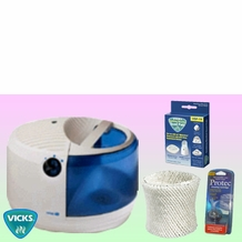 Vicks V3500 Humidifier - Deluxe Kit