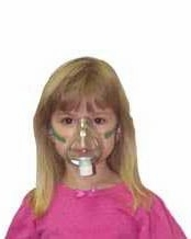 DeVilbiss PAM10 Pediatric Aerosol Mask - Set of 3