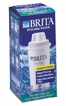 BRITA 35501 Replacement Filter for Drinking Water Pitchers (Single)