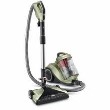 Hoover SH40050 WindTunnel Multi Cyclonic Canister Vacuum, Green