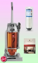 Hoover U5262-910 Bagless Upright Vacuum - Deluxe Kit