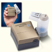 Respironics RDD490 MicroElite Portable Compressor Nebulizer System